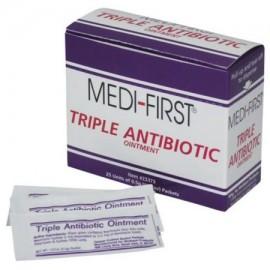 Medique 22373 Medi-First 05 g crema antibiótica Paquete - 25 - Caja