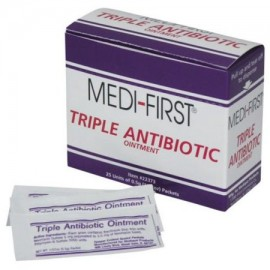 Medique Medi-First ® 05 gm triple dosis Ungüento antibiótico 50 paquetes