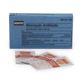Norte 20126 1 gramo bolsa individual Ungüento antibiótico neomicina (10 por caja) (1 - BX)