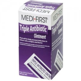 Medique Medi-First 05 g Triple Ungüento antibiótico 864 paquetes