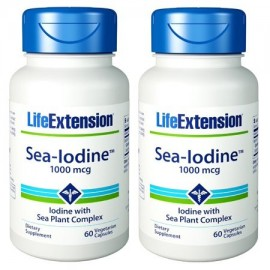 Life Extension Sea-yodo 1000 mcg 60 Cápsulas (Pack de 2)