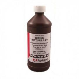 El yodo Tinture 2% 16 oz con pulverizador
