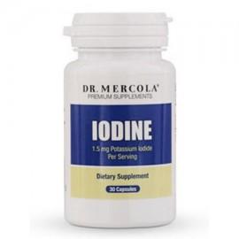 Dr. Mercola yodo - 15 mg - 30 Cápsulas