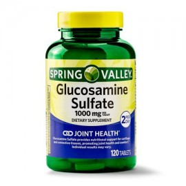 Spring Valley Glucosamine Sulfate Tablets 1000 mg 120 Ct