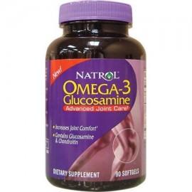 Natrol- Omega-3 glucosamina 90 cápsulas blandas