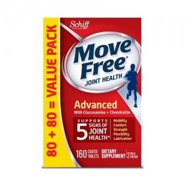 MOVE FREE avanzadas 160 tabletas - Suplemento Salud de las articulaciones con glucosamina y condroitina