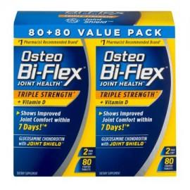 Osteo Bi-Flex Conjunto de Salud de los Suplementos Dietéticos Value Pack 160 recuento