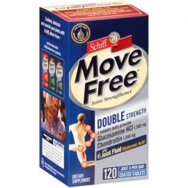 MOVE FREE Doble Fuerza glucosamina condroitina y ácido hialurónico Conjunto Suplemento 120 Conde