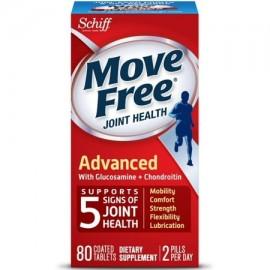 Schiff Move Free avanzada Salud de las articulaciones con glucosamina y condroitina Tablets 80 Ct