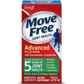 Schiff Move Free avanzada Salud de las articulaciones con glucosamina y condroitina Tablets 120 Ct 4 Paquete