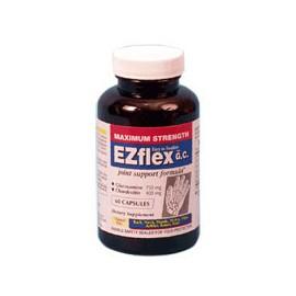 EZ Flex fuerza máxima de glucosamina y condroitina conjuntos de asistencia Cápsulas Formula - 60 Ea
