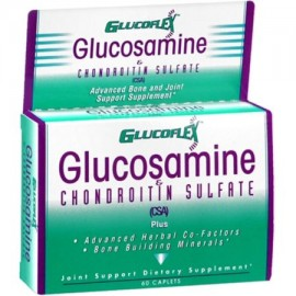 Glucoflex glucosamina Sulfato de Condroitina Caplets 60 Caplets