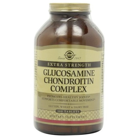 Solgar tabletas complejas fuerza adicional glucosamina condroitina 300 ct
