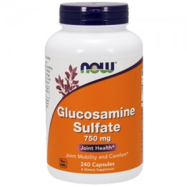 NOW Glucosamina sulfato 750 mg cápsulas 240 Ct
