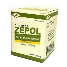 Zepol ANALGÉSICOS 3 oz músculos articulaciones dolor de espalda esguinces contusiones y esguinces GRANDE