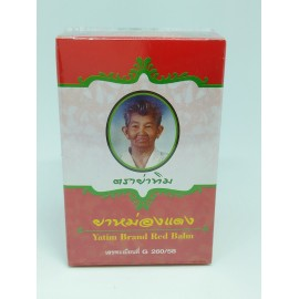 50 gramos. YATIM THAI RED NATURAL HERBAL BALM musculares dolor contusiones - BLOOD FLOW