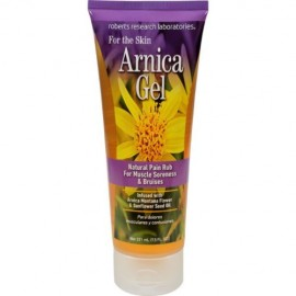 Robert Research Labs gel de árnica Dolor Rub para las contusiones y dolor muscular 7.5 Oz 6