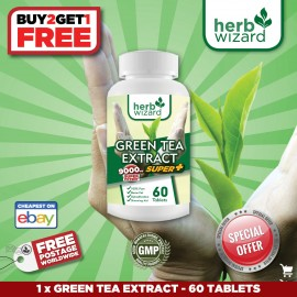 fuerza 9000mg té verde -alta quemador de grasa peso deficitaria (60 tabletas)