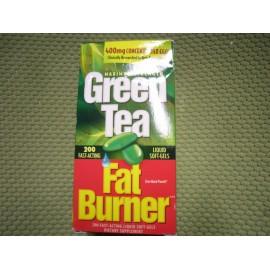 Nuevo- Green Tea quemador de grasa 200 Cápsulas Blandas de acción rápida pérdida de peso Liquid Cápsulas Blandas de