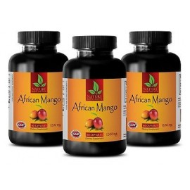 Natural mango africano - Extracto de té verde píldoras - quemador de grasa - pérdida de peso - 3B
