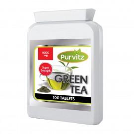 Extracto de té verde 1000mg 100 Comprimidos para la pérdida de peso de la grasa que adelgaza píldoras quemador