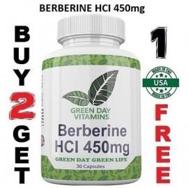 La berberina HCI 450 mg depresión colesterol corazón