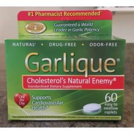 Garlique enemigo natural de 60 cápsulas de colesterol exp 2019