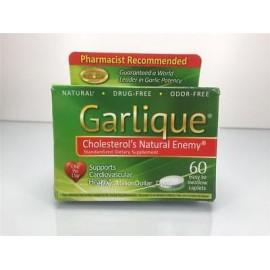 Garlique de colesterol estandarizada Enemigo de la salud cardiovascular Natural 60 Caps
