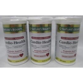 3 Natures Bounty Cardio-Salud Colesterol Soporte Probiótico 60 Cápsulas Ea 1-19