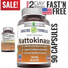 Suplemento nattokinase para la enfermedad cardíaca Colesterol Alto carrera de presión arterial