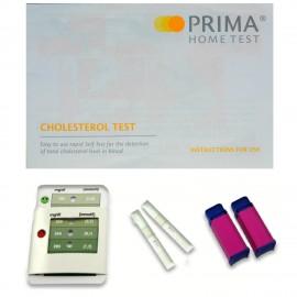 Las pruebas de colesterol Inicio - kits de pruebas - Prueba 3 - Resultados min - CE aprobado - 2 pruebas