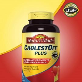 Naturaleza-Made-CholestOff-Plus-900-Mg-bajos de colesterol-210-Cápsulas Blandas