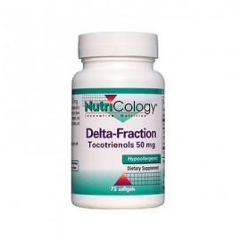Delta Fracción tocotrienoles 50 mg 75 Softgels Nutricology Colesterol