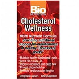 El colesterol Bienestar 60 vcaps por Bio Nutrition Inc