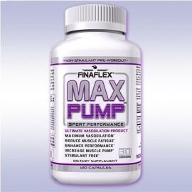Finaflex MAX bomba (120 cápsulas) músculo betaína NO3 vasodilatador libre de estimulantes