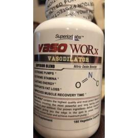 Superior Labs Vaso WORx® vasodilatador potente Suplemento de óxido nítrico dietética