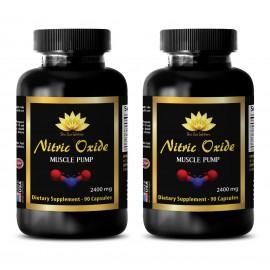 expandir las arterias para el flujo de sangre - ÓXIDO NÍTRICO 2400 Mg - 2B - vasodilatador naturales