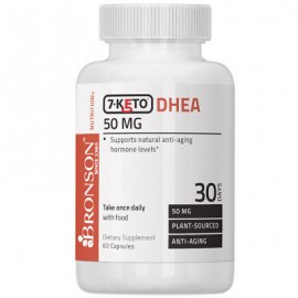 Bronson 7-Keto DHEA 50mg Weight Management Boost Metabolism 60 Capsules