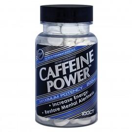 Hi Tech Pharmaceuticals La cafeína Power Energy alerta mental 100tab 200mg