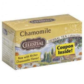 Celestial Seasonings - manzanilla té de hierbas sin cafeína - 20 bolsitas de té