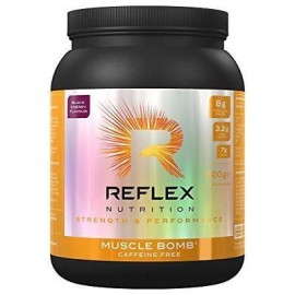 Reflex Nutrition Bomba muscular no cafeína 600g Negro cereza