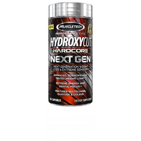 MuscleTech - Hydroxycut-Hardcore-NEXT-GEN-180-Cápsulas-BRAND-NEW 07-2021