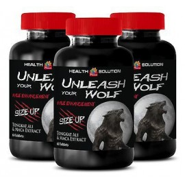 Testosterone Booster - UNLEASH YOUR BEAST - Sex Drive - 180 Capsules