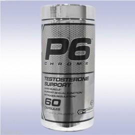 Cellucor P6 CHROME (60 cápsulas) testosterona refuerzo constructor de músculo tribulus