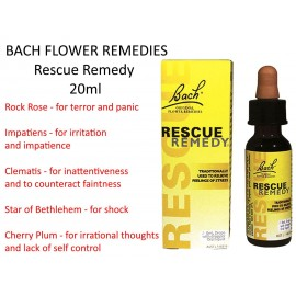 FLORES DE BACH RECURSOS Rescue Remedy gotas 20ml MARTIN - PLEASANCE