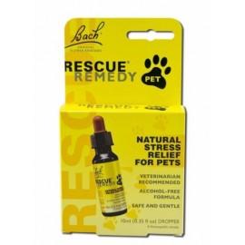 Bach Remedios Florales Remedio de Rescate de alivio de tensión para los animales domésticos - 10 ML (Paquete 1)