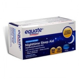 EQUATE NIGHTTIME SLEEP AID 32 CAPS