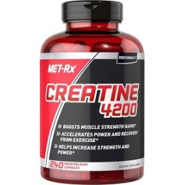 CREATINE 4200 BY MET RX 240 CAPS