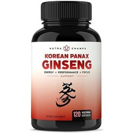 KOREAN PANAX GINSENG 120 CAPS