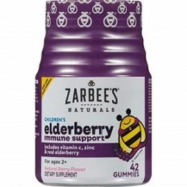 ZARBEES ELDERBERRY 42 GOMITAS